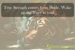 True strength comes from inside
