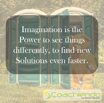 Imagination is the Power to see things differently, to find new Solutions even faster.