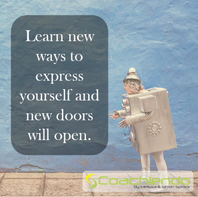 Learn new ways to express yourself and new doors will open.