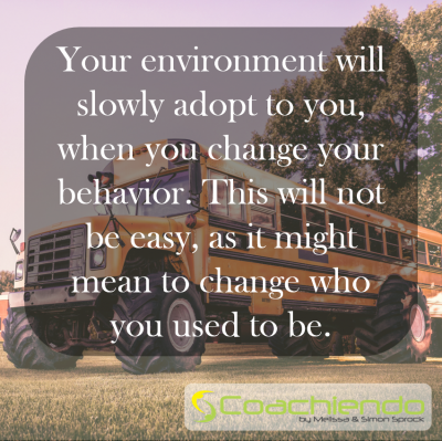 Your environment will slowly adopt to you, when you change your behavior. This will not be easy, as it might mean to change who you used to be.