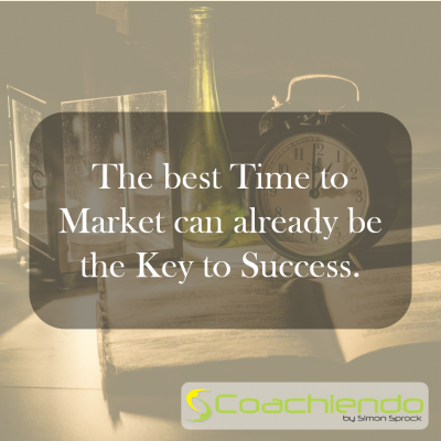 The best Time to Market can already be the Key to Success.