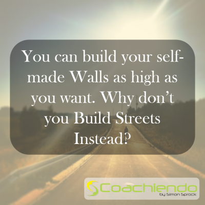 You can build either Walls or Streets, your choice.